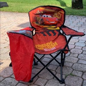 Boys sports  folding chair
